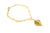 Real Birch leaf gold bracelet - Arborvita Real leaf jewellery