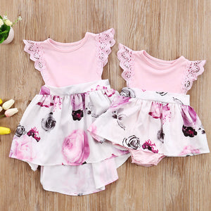 Infant and Toddler Floral Sundress