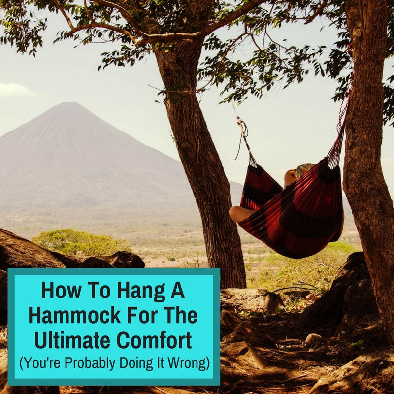 hanging a hammock correctly