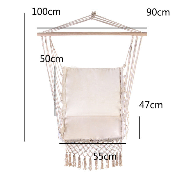Nordic Style White Hanging Chair