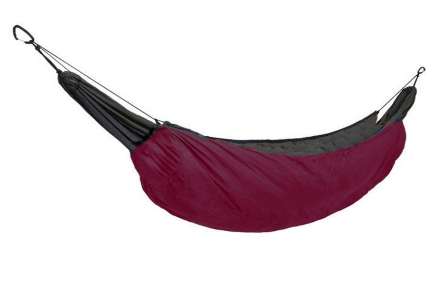 Hammock Underquilt For Camping Wine Red