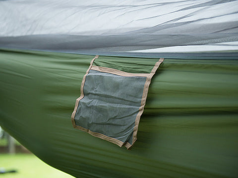 NatureHike Ultralight Camping Hammock Set (With Tarp and Bug Net)