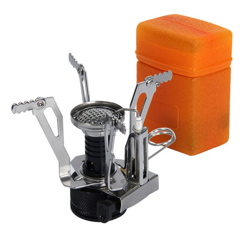 Image of Portable Camping Stove And Cookware Set (8 Pieces)