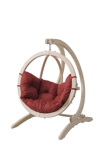 Image of Globo Kid's Hanging Chair And Stand Set