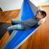 "Image of Large Portable Parachute Camping Hammock (104"" x 55"" - 6 Colors)"