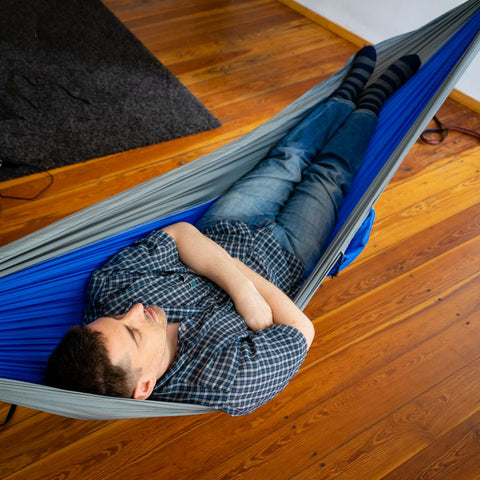 "Large Portable Parachute Travel Hammock (104"" x 55"" - 6 Colors)"