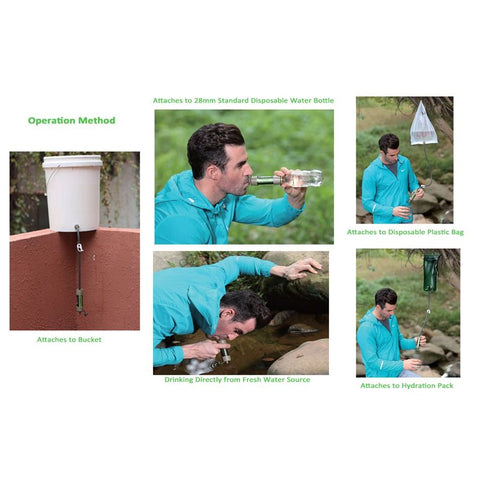 Image of Miniwell L630 Water Filtration System For Camping And Outdoor Survival