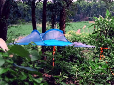 One Person Portable Tree Tent Camping Hammock