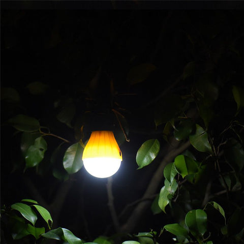 Image of Outdoor Hanging LED Light Bulb For Camping Or Backyards (4 Colors)