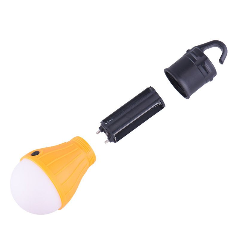 Outdoor Hanging LED Light Bulb For Camping Or Backyards (4 Colors)