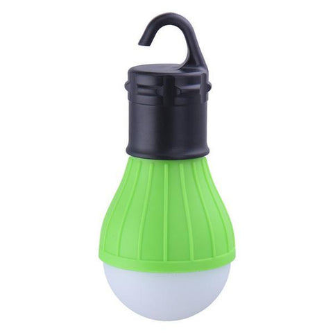Image of Green Outdoor Hanging LED Light Bulb