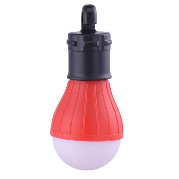 Red Outdoor Hanging LED Light Bulb