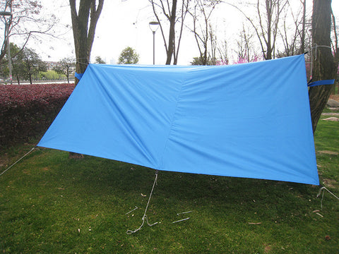 Image of Lightweight Ripstop Tarp For Hammock Camping (3 Colors)