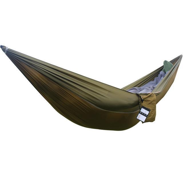 "Small Portable Parachute Camping Hammock (90"" x 35"" - 10 colors)"