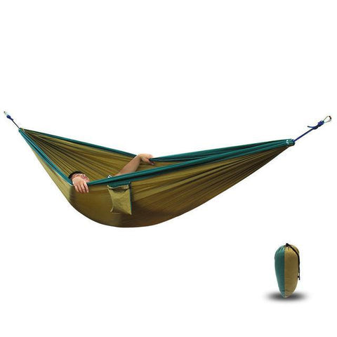 "Ultra-Large Portable Parachute Camping Hammock (118"" x 78"" - 17 Colors)"