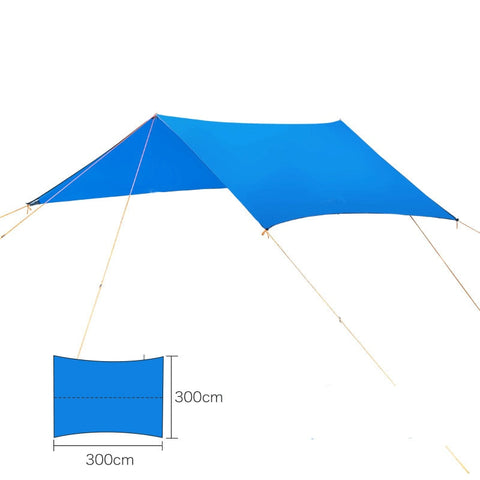Lightweight Ripstop Tarp For Hammock Camping (3 Colors)