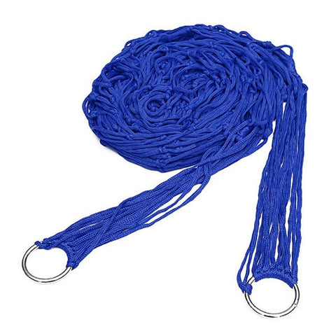 Image of Blue Rope Hammock