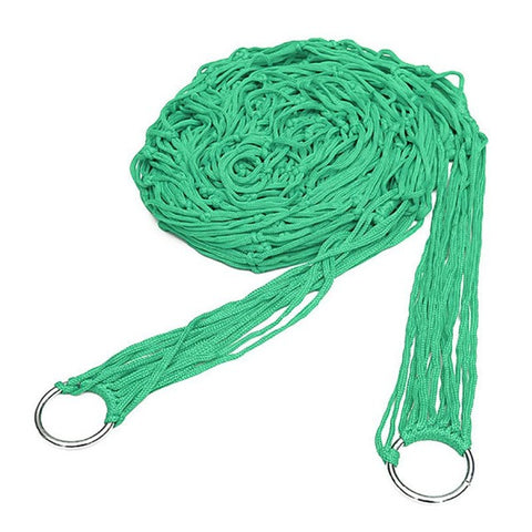 Image of Green Rope Hammock