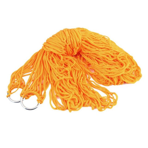 Orange Rope Hammock
