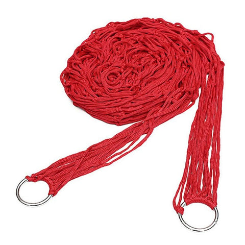 Image of Red Rope Hammock