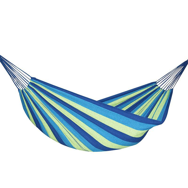 "Large Brazilian Canvas Hammock (71"" x 59"" Fabric Size - 2 Colors)"