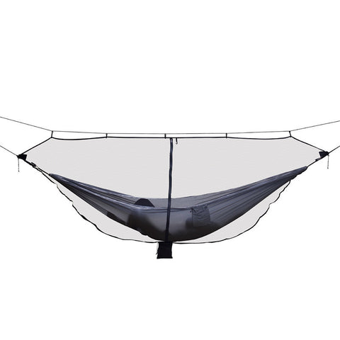 Image of Lightweight Black Mosquito Net For Hammocks