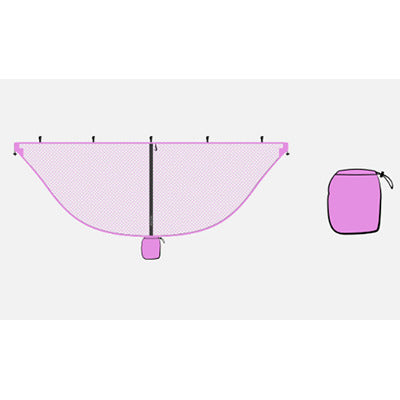 Lightweight Pink Mosquito Net For Hammocks