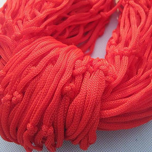 Reticular Nylon Rope Hammock (5 Colors)