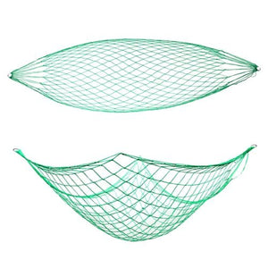 Green Nylon Rope Hammock