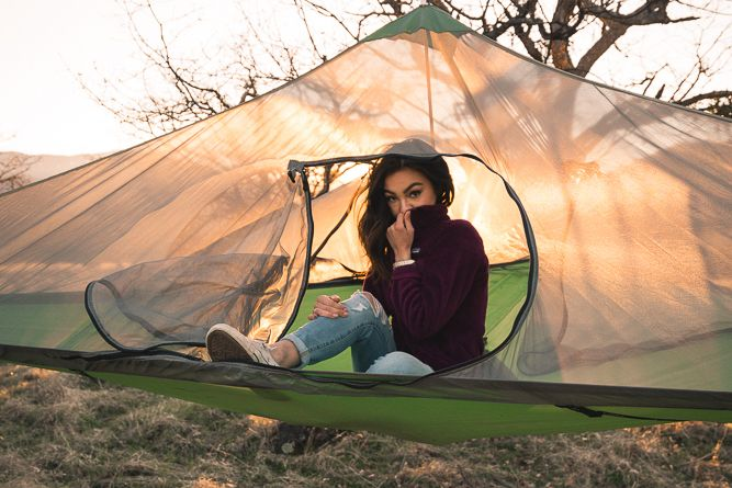 Tentsile Stealth 3-Person Tree Tent With Removable Roof (6 Colors)