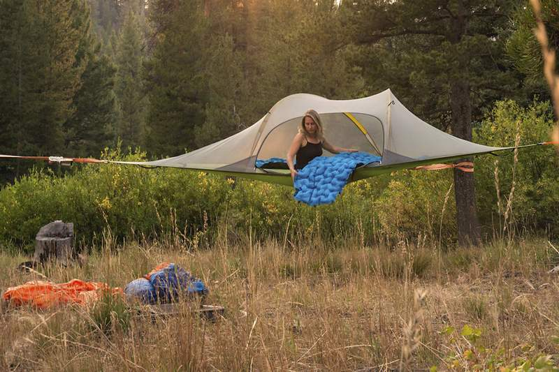 Tap to expand & Buy Tentsile Stingray 3-Person 4-Season Tree Tent (7 Colors) Online ...