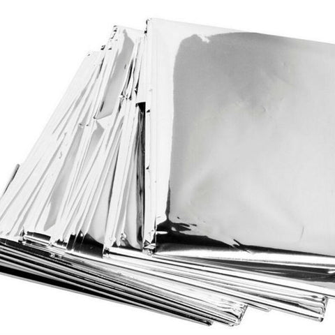 Image of Emergency Waterproof Thermal Space Blanket (2 Sizes)
