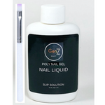 GenZ Poly Nail Gel Slip Solution W/Poly Nail Gel Brush