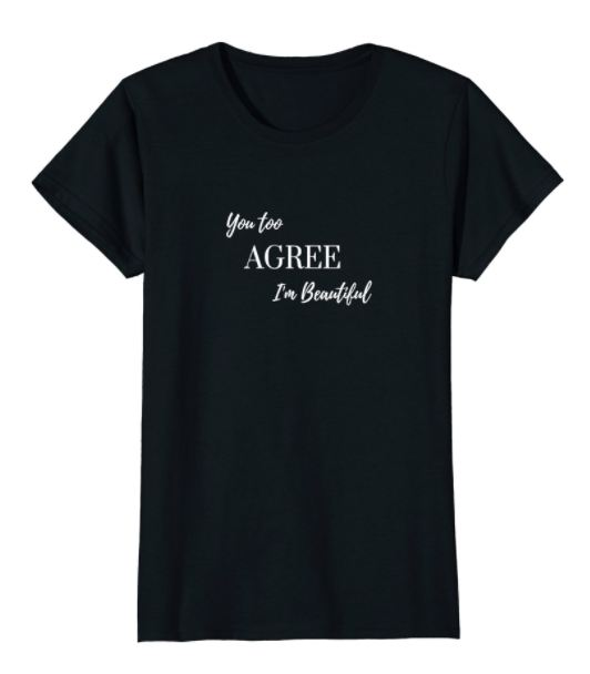 Summer Halfsleeves T Shirt Printed You Too Agree S Female / Black T-Shirts Genzproduct