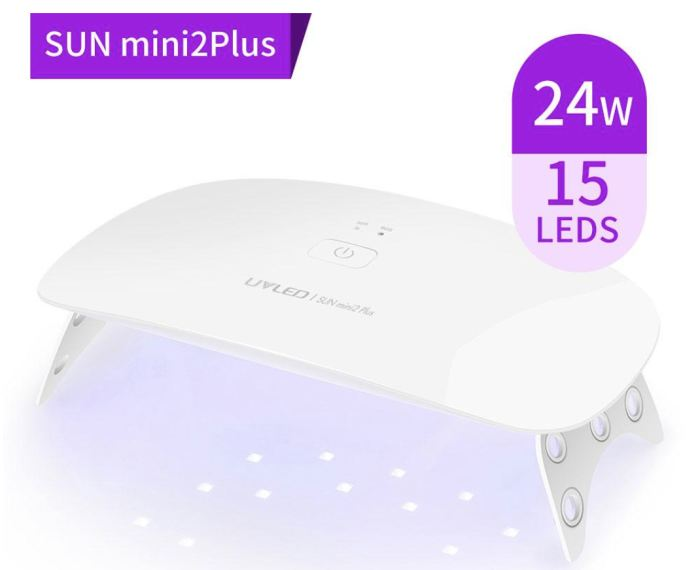 Genz 24W Uv Led Nail Dryer/curing Lamp Mini2 Plus Genzproduct