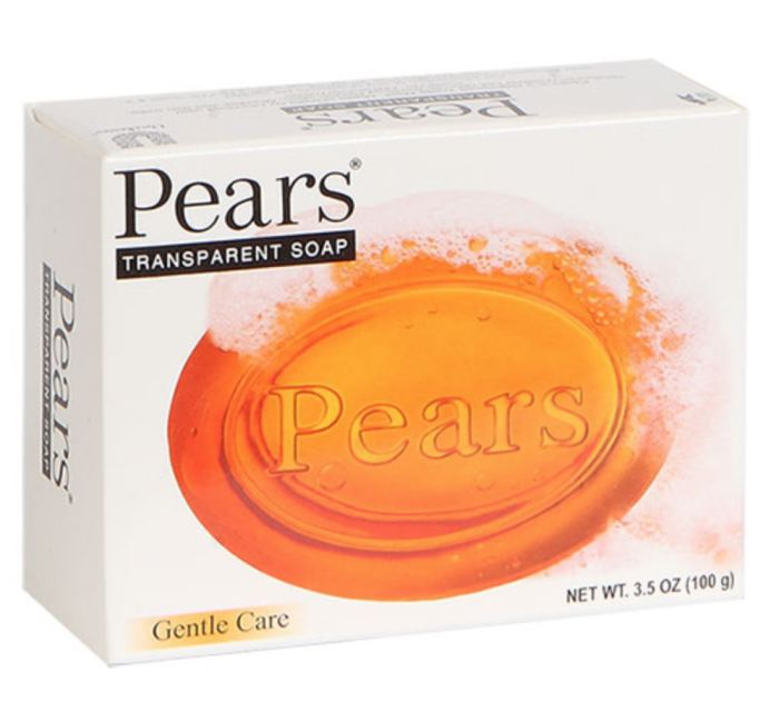 Pears Transparent Glycerine Soap 3.5-Oz. Bars Facial Genzproduct