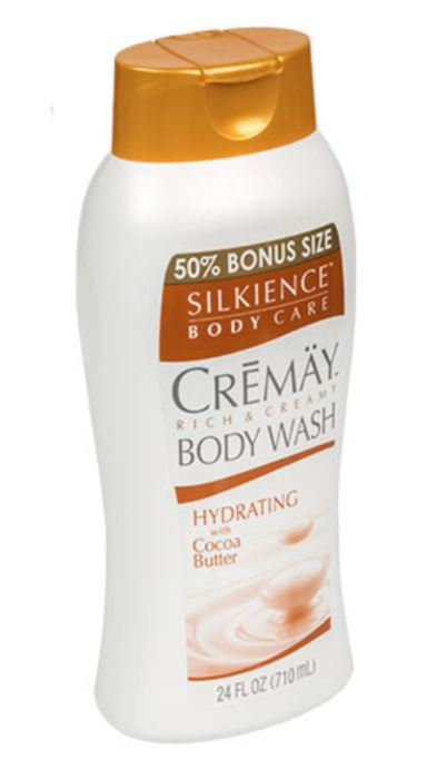 Silkience Cremay Hydrating Body Wash With Cocoa Butter 16 Oz. Genzproduct