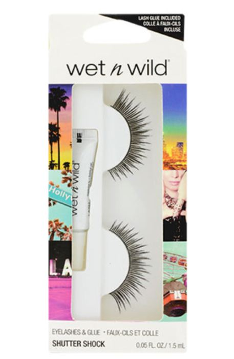 Wet N Wild Shutter Shock False Eyelashes With Adhesive Genzproduct