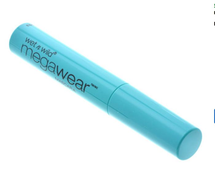 Wet N Wild Megawear Very Black Mascara .24 Oz. Genzproduct