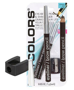 L.a. Colors Expressions Eyeliner & Brow Pencils With Sharpener 3-Ct. Packs Genzproduct