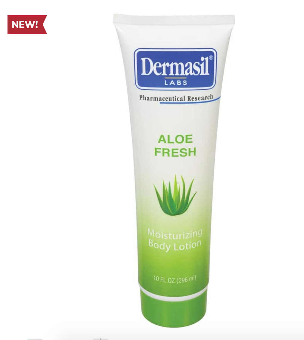 Dermasil Fresh Aloe Vera Skin Lotion, 8 oz.