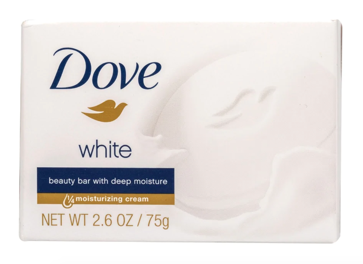 Dove Moisturizing Soap, 2.6-oz. Bar