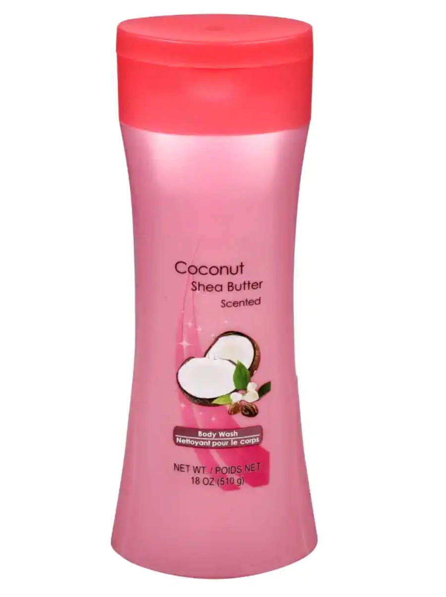 Coconut and Shea Butter Scented Body Wash, 18 oz.