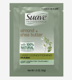 Suave Professionals Almond and Shea Butter Deep Conditioner 1.5 0z