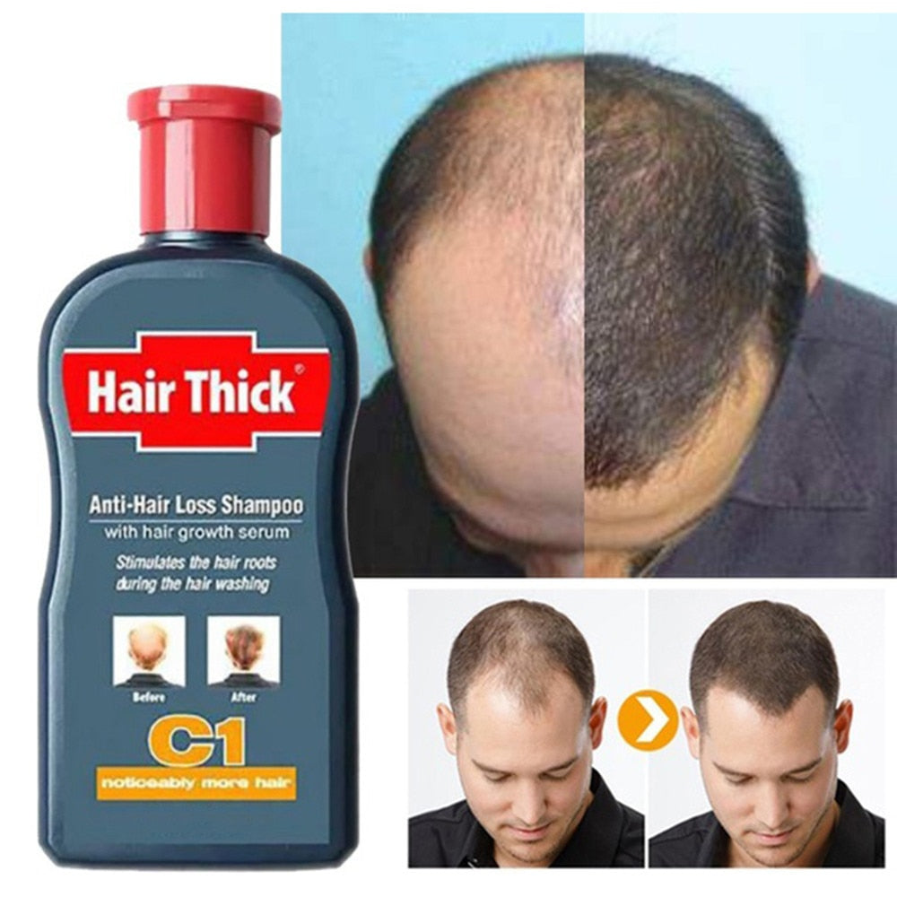 Hair Growth 100ml Anti-Hair Loss Shampoo Thick Fast Growth Herbal Serum Herbal For Men