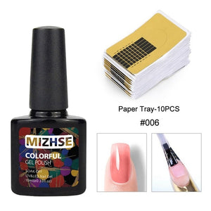 MIZHSE Poly Nail Gel Quick Extension UV LED Building Gel