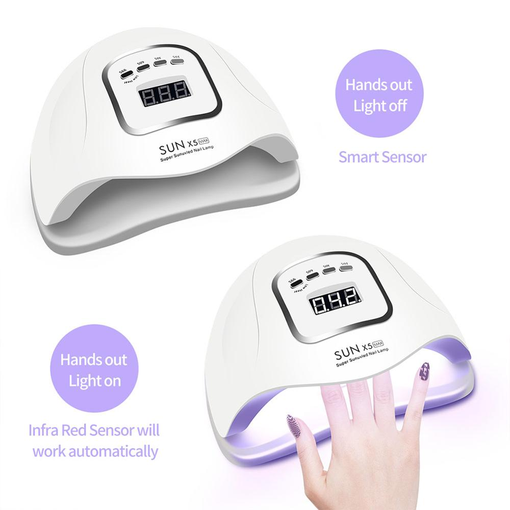 LED Nail Lamp for Manicure 80 Watts UV Nail Dryer Machine