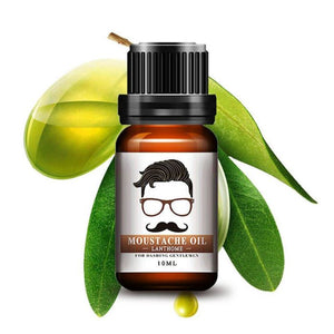 Men Natural Organic Styling Moustache & Beard Oil Essential Oils Genzproduct