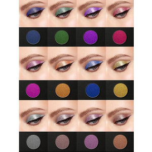 24 Glitter Pressed Powder Eyeshadow Genzproduct