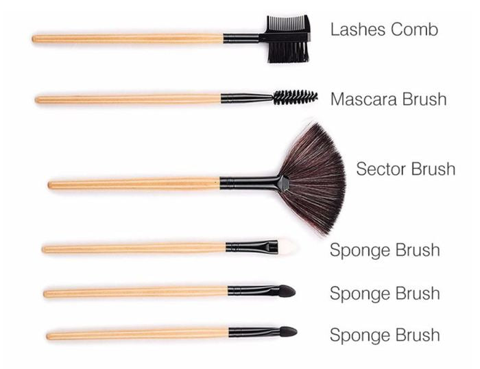 32 Pcs Makeup Brush Beauty Set Brushes Genzproduct